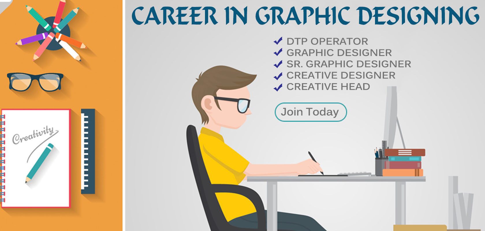 Best Graphic Design Institute in Vadodara